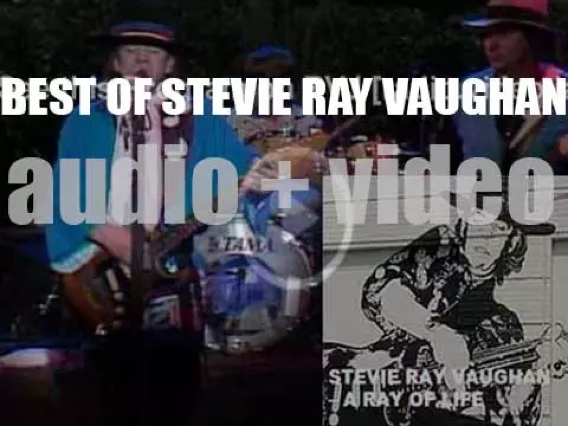 We remember Stevie Ray Vaughan. 'A Ray Of Life'