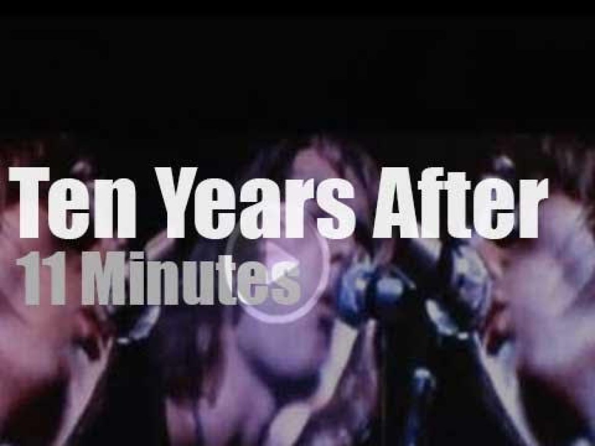 Ten Years After play at Woodstock (1969)