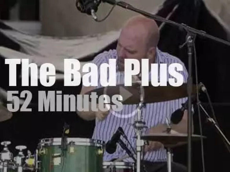 The Bad Plus  perform at Newport Jazz (2006)