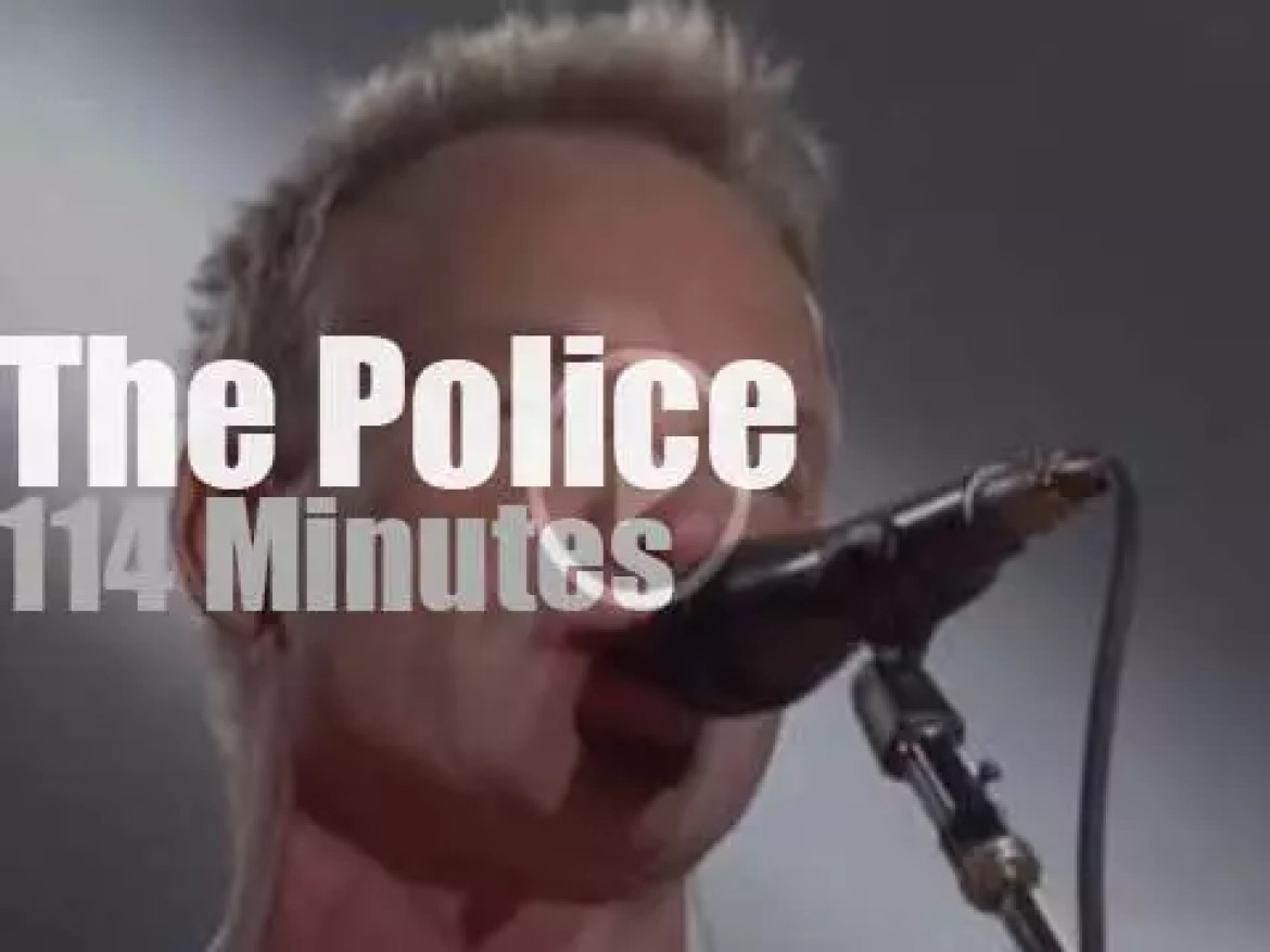 The Police are back … in Tokyo (2008)