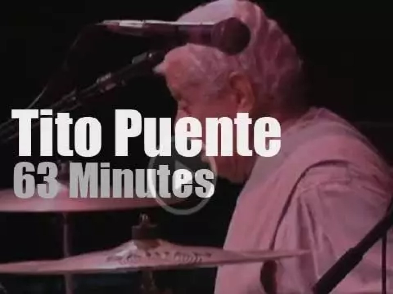 Tito Puente plays at Newport Jazz (1997)