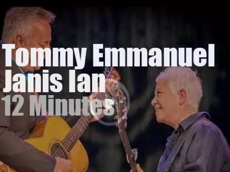 Tommy Emmanuel & Janis Ian meet in Philadelphia (2014)