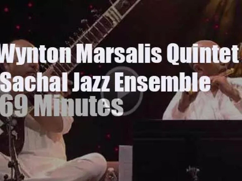 Wynton Marsalis Quintet meets Sachal Jazz Ensemble (2013)