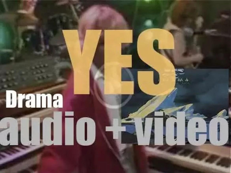 Atlantic release Yes' tenth album : 'Drama' (1980)