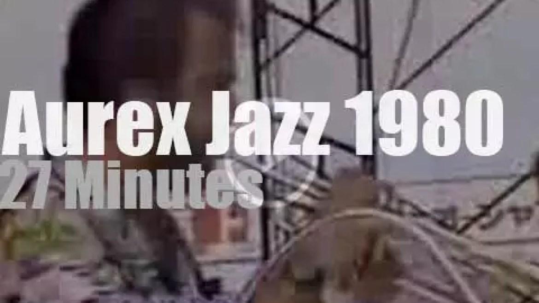 Freddie Hubbard, Joe Henderson et al attend Aurex Jazz (1980)
