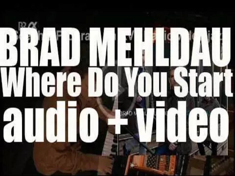 Nonesuch publish Brad Mehldau Trio's 'Where Do You Start' (2012)