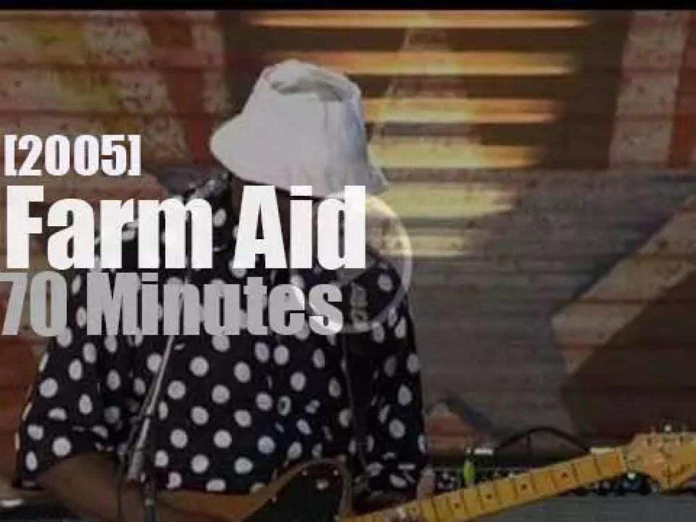 Buddy, John, Neil et al are at Farm Aid (2005)