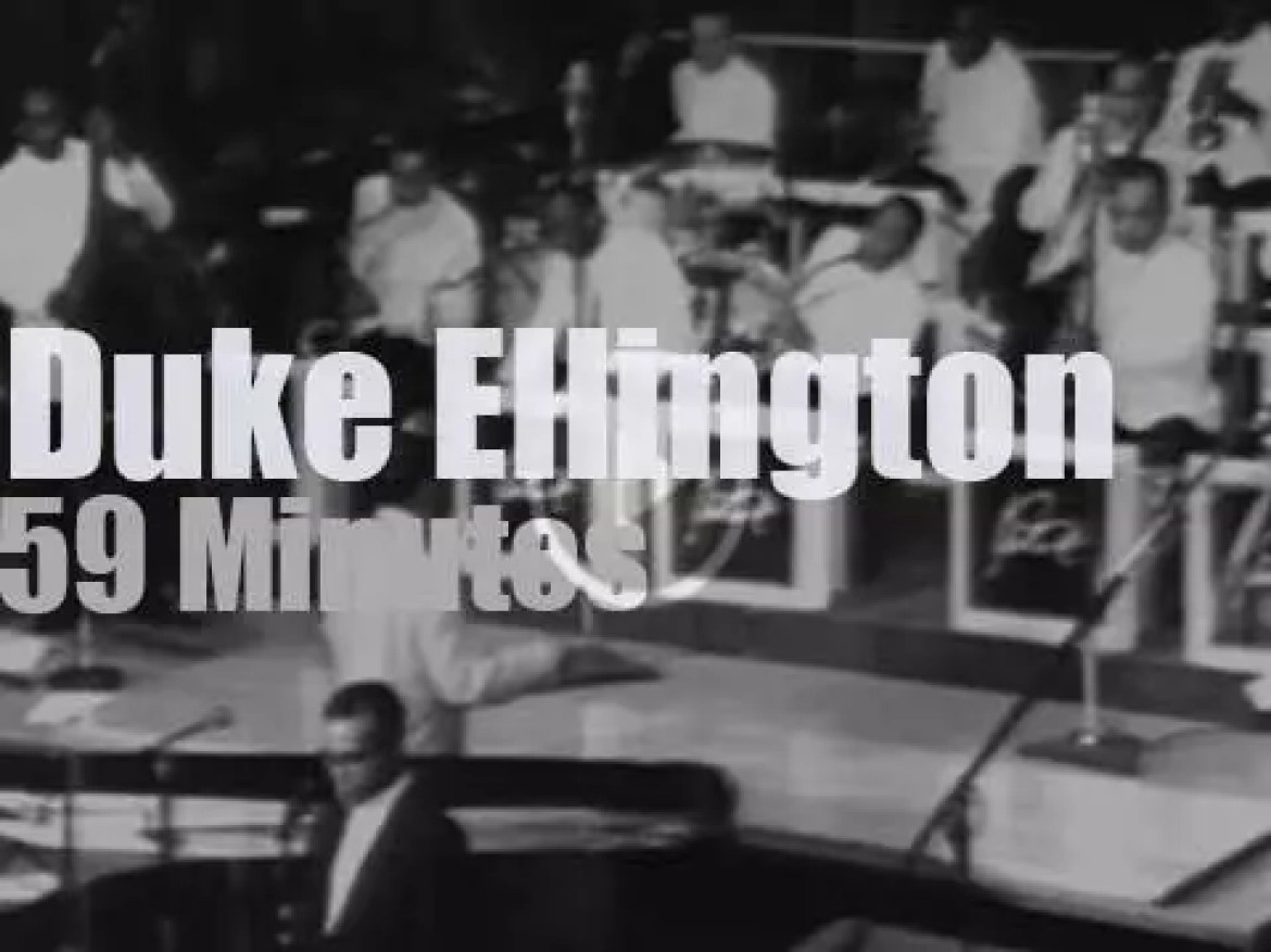 On TV today, Duke Ellington at the Cathedral (1965)