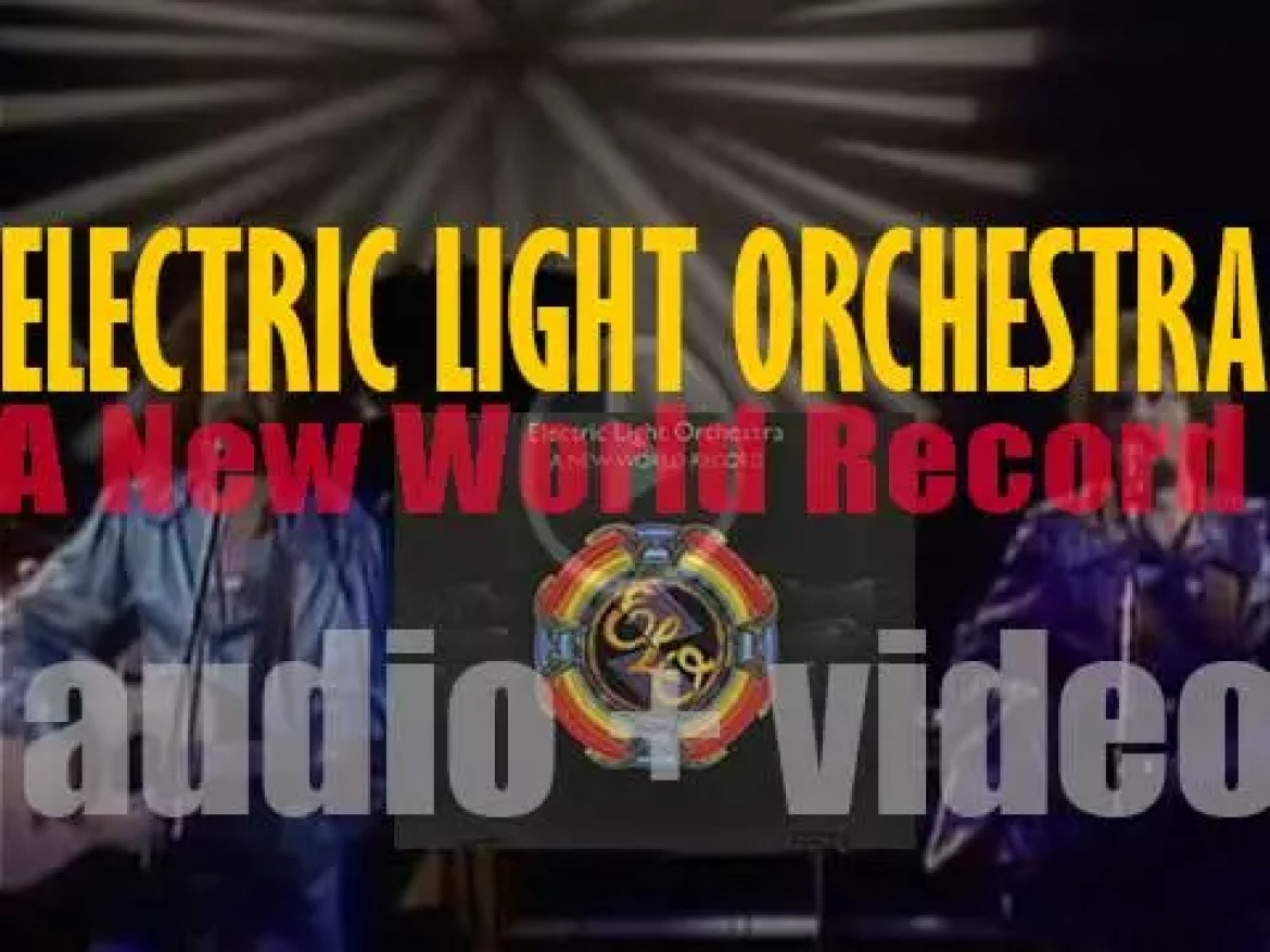 Electric Light Orchestra release 'A New World Record,' their sixth album featuring 'Livin' Thing' (1976)