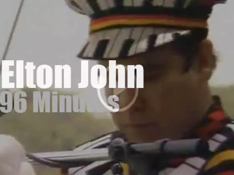 Elton John serenades Central Park (1980)