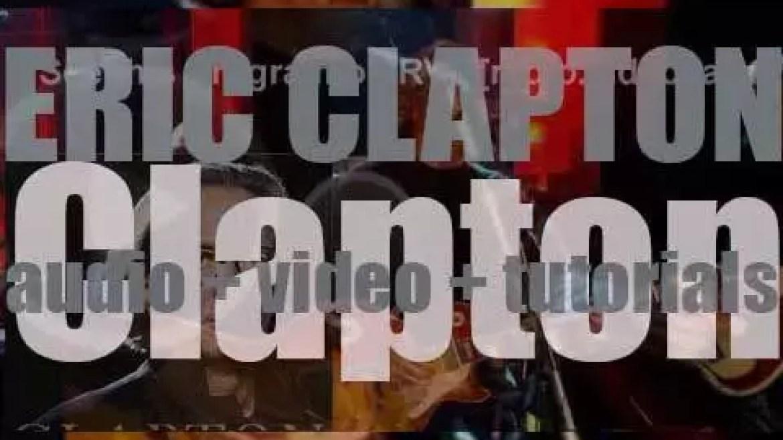 Eric Clapton releases his twentieth album : 'Clapton' (2010)