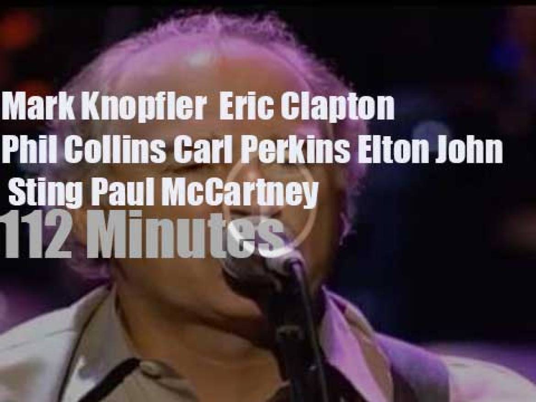 Mark, Eric, Elton, Phil et al play for Montserrat (1997)