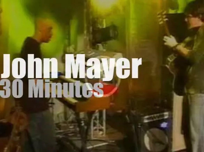 German TV tapes John Mayer (2003)