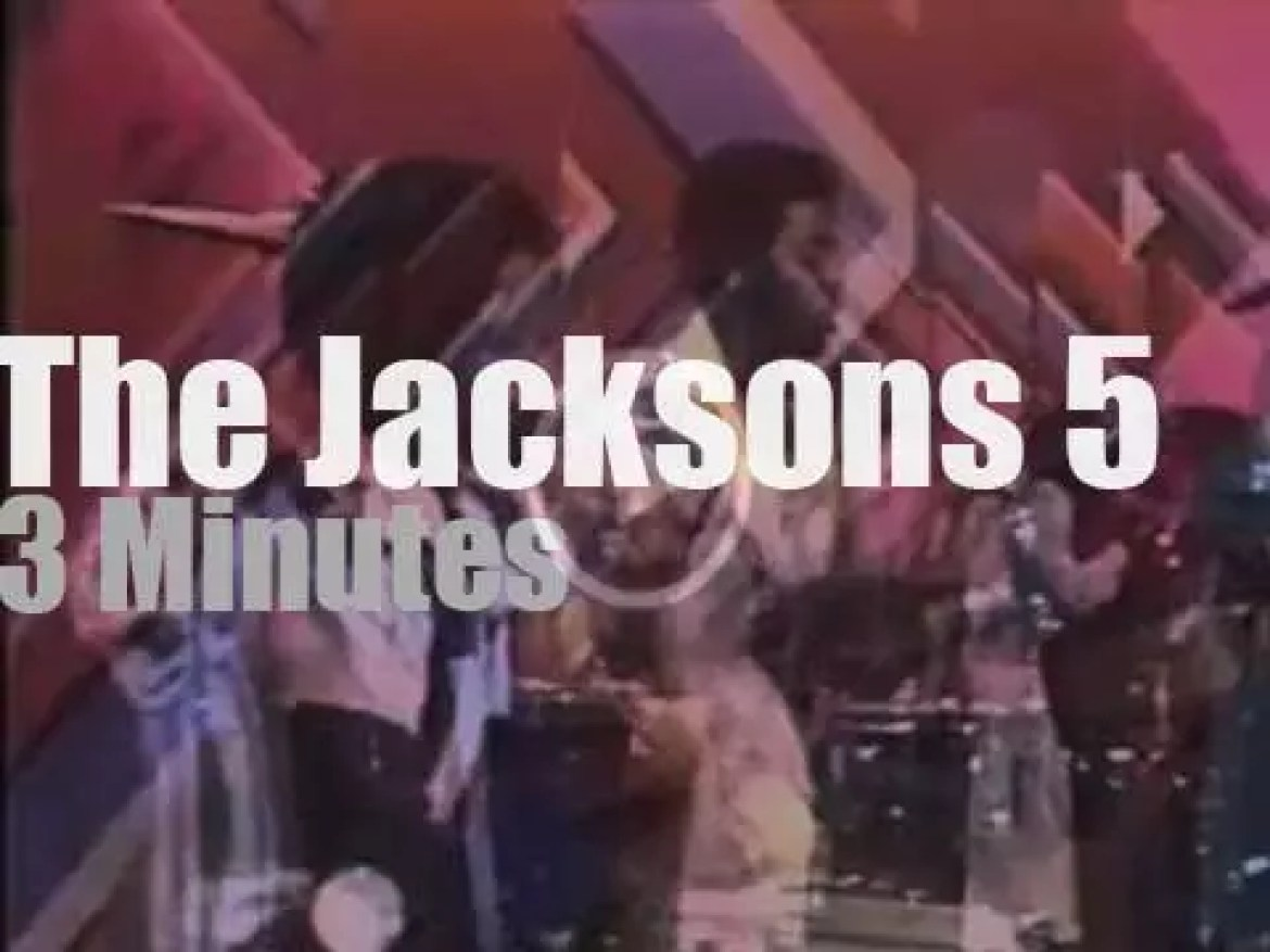 On TV today, The Jacksons 5 with Bob Hope (1973)