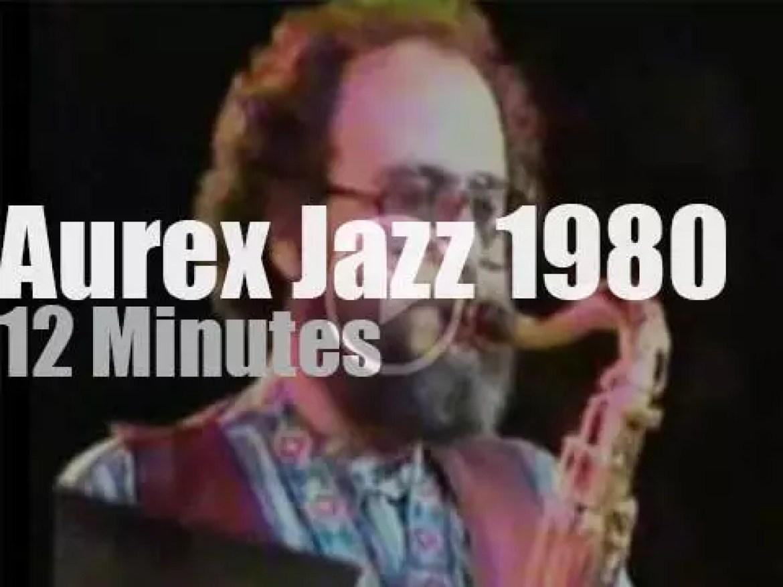 Jazz Alumni gather at Aurex Jazz (1980)