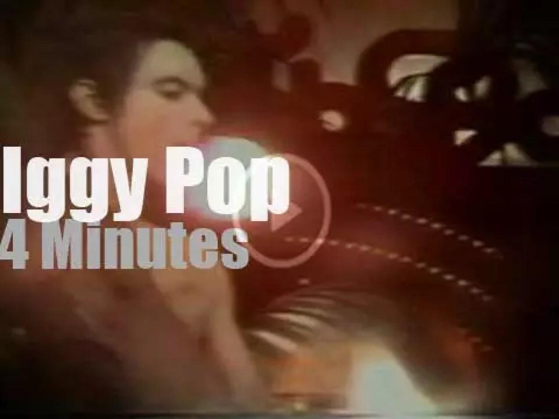 Iggy Pop shocks Dutch TV (1977)