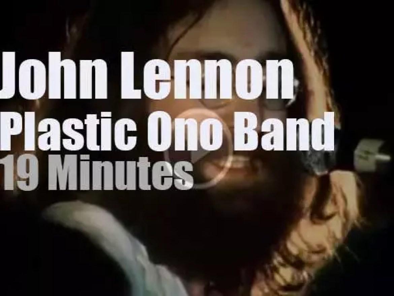 John Lennon takes the Plastic Ono Band to Toronto (1969)