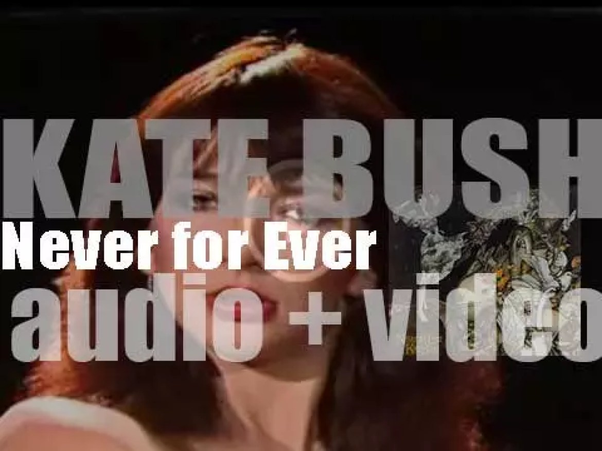 Kate Bush releases her third album : 'Never for Ever' featuring 'Babooshka' (1980)
