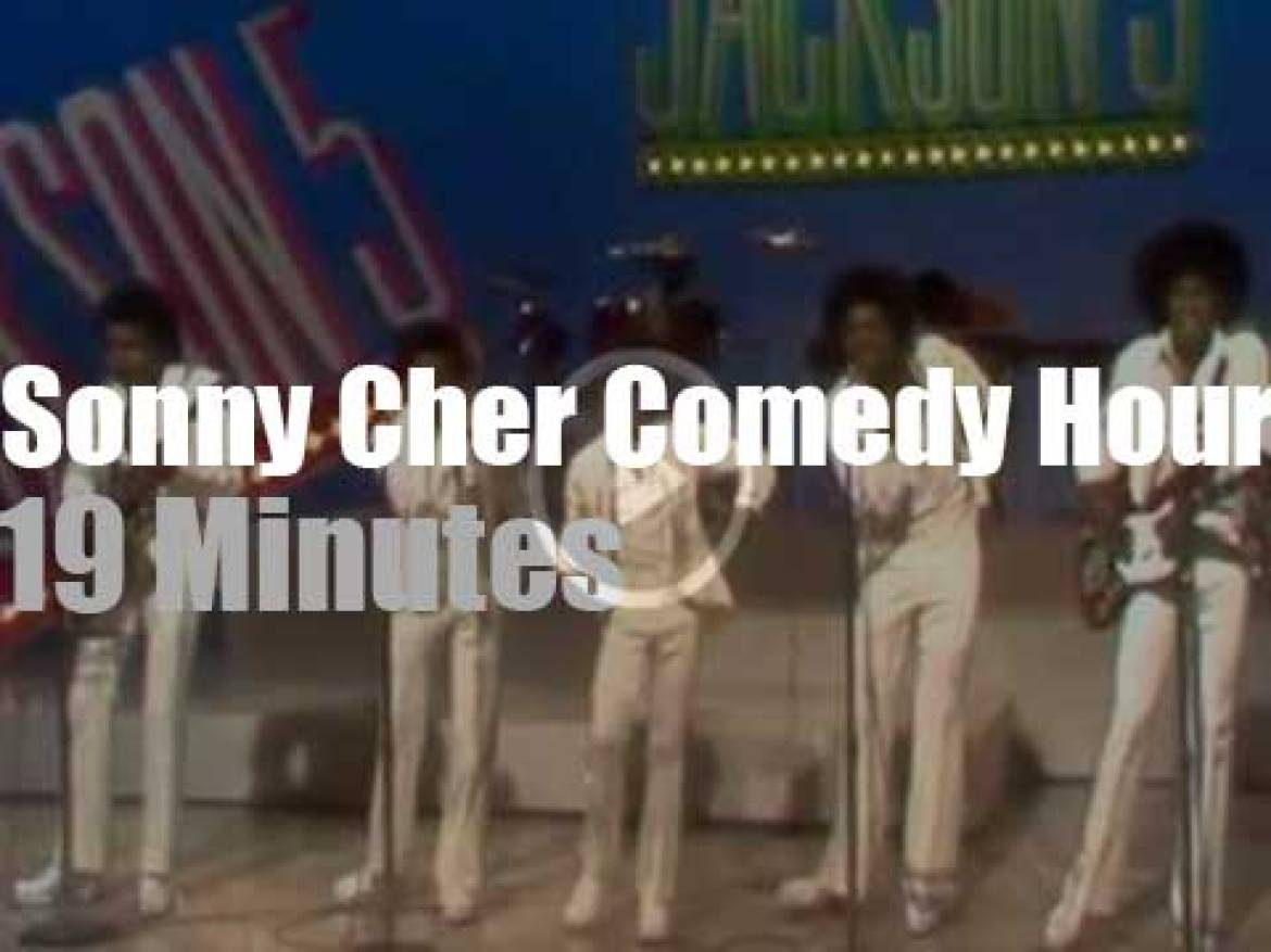 On TV today, The Jackson 5 at 'Sonny & Cher Comedy Hour' (1972)