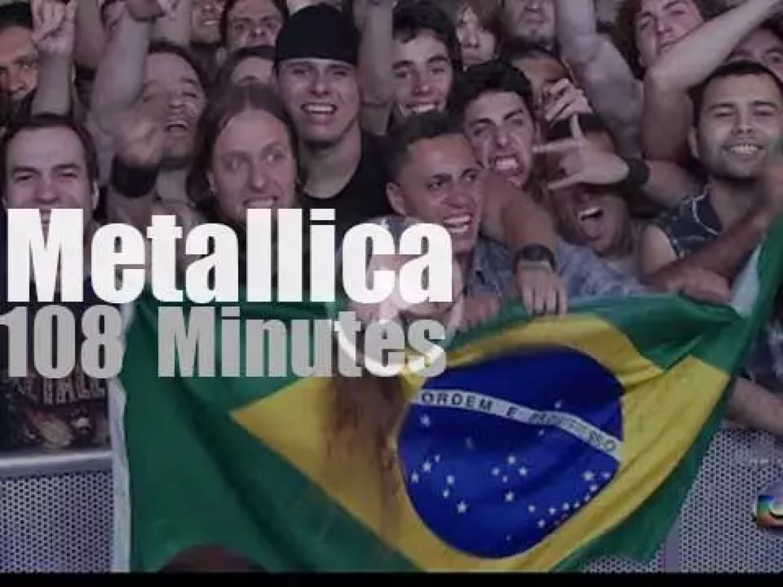 Metallica serenade Rio (2011)