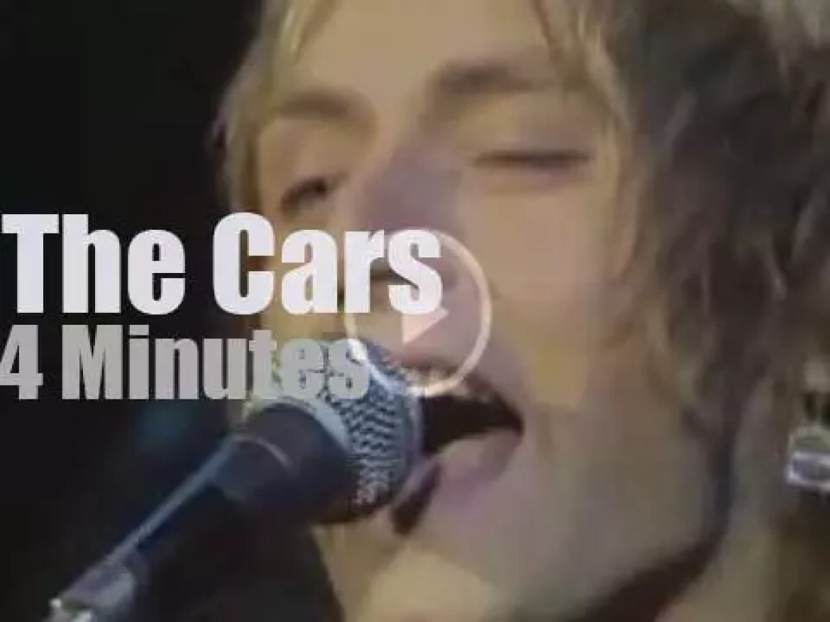 On TV today, The Cars at 'Midnight Special' (1978)