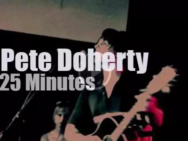 Pete Doherty visits Roma (2012)