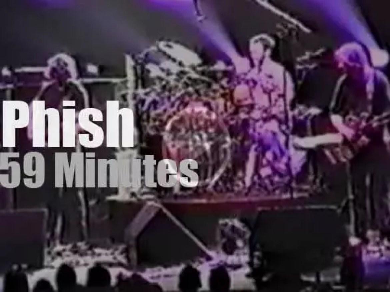 Phish jam in Boise (1999)