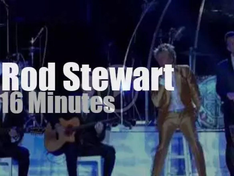 Rod Stewart attends 'Rock in Rio'  (2015)