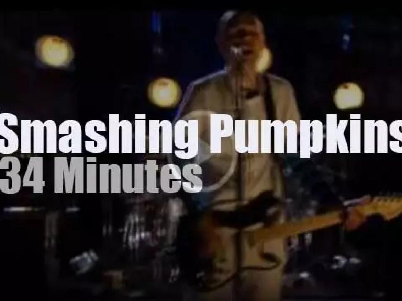 Smashing Pumpkins have a session (2007)