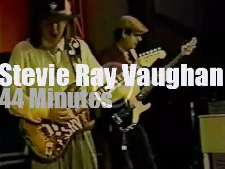 Stevie Ray Vaughan stops in Nashville (1987)