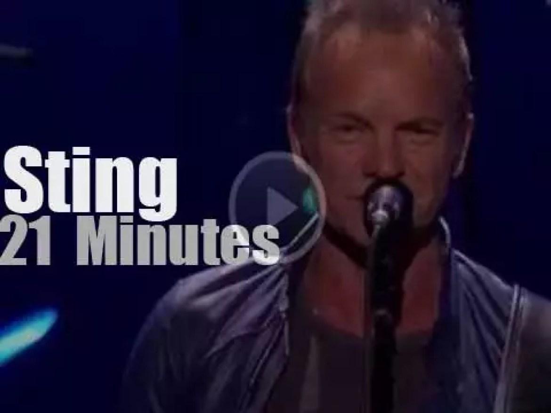 Sting  visits Las Vegas (2016)