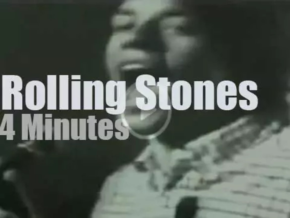 On TV today, The Rolling Stones on 'Shindig!' (1965)