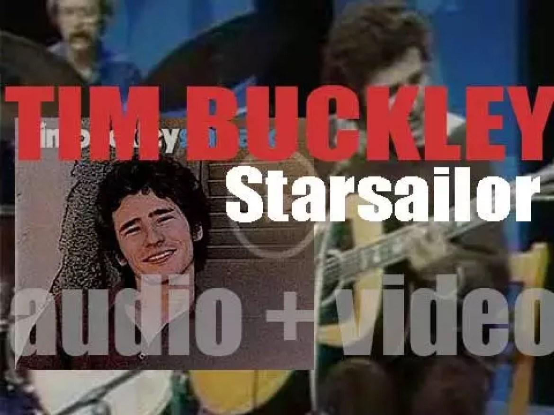 Tim Buckley begins the recording of his album 'Starsailor' (1970)