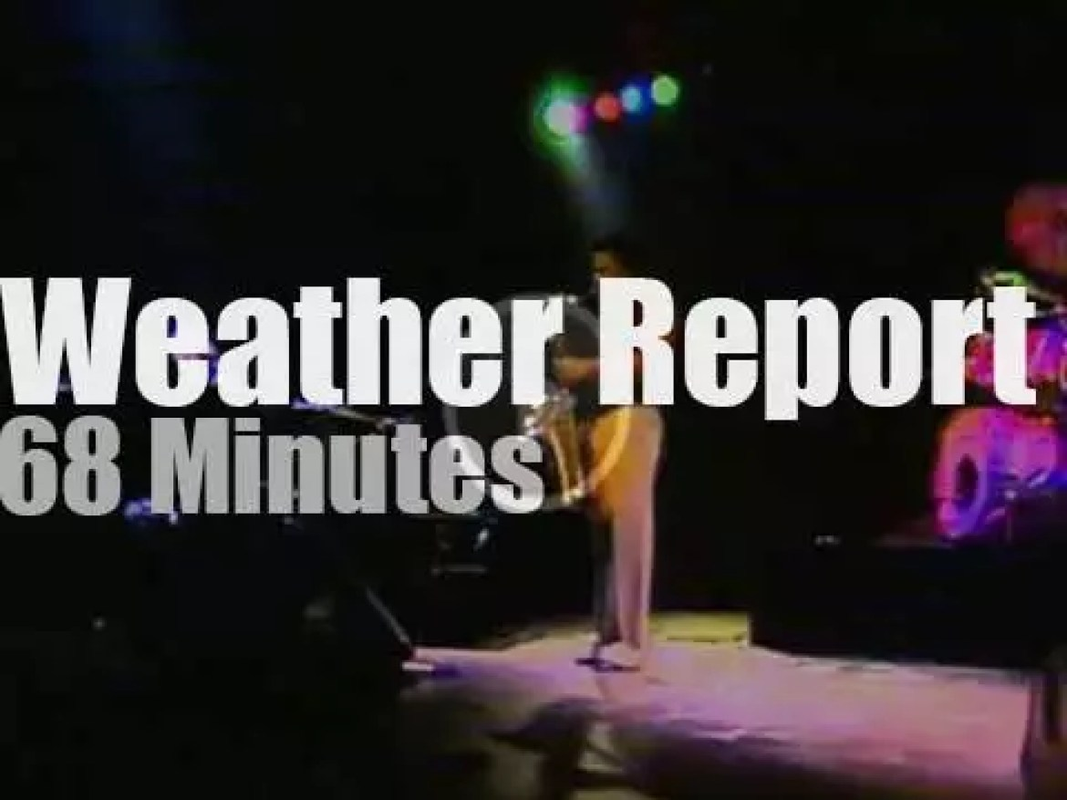 Weather Report perform in Germany (1978)