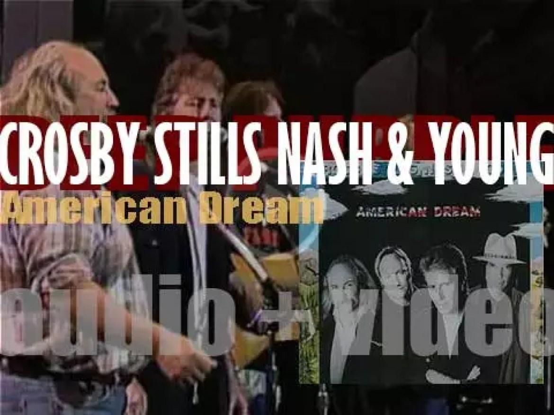 Atlantic publish Crosby, Stills, Nash & Young's second album : 'American Dream' (1988)