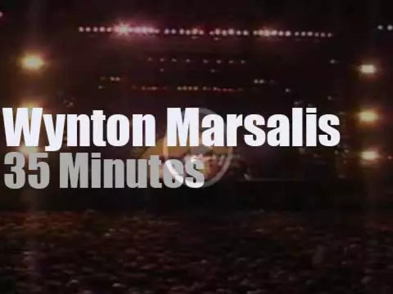 Wynton Marsalis supports Amnesty International in Chile (1990)