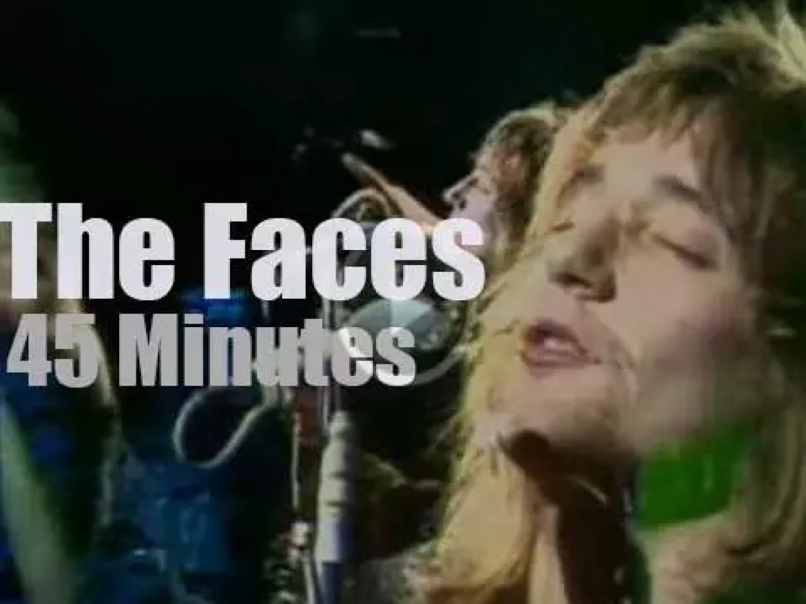 BBC tapes The Faces (1971)