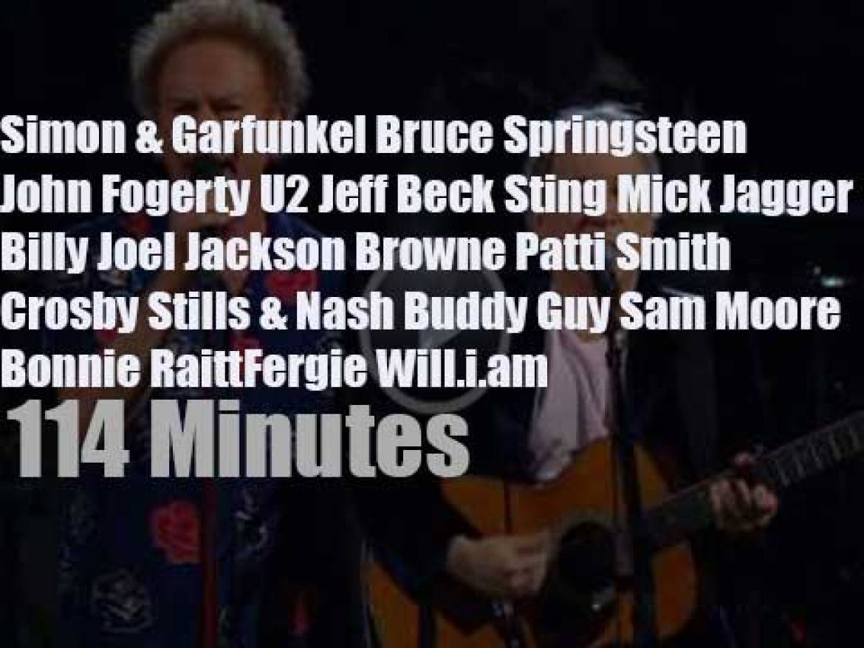 Bruce, Jeff, Jackson, Mick et al celebrate 25 years of RARHOF (2009)