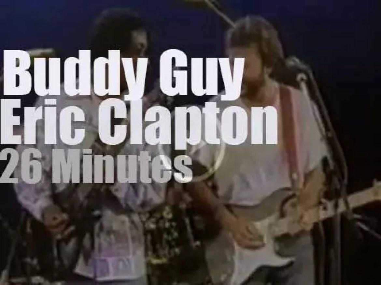 Buddy & Eric meet at Ronnie Scott's  (1987)