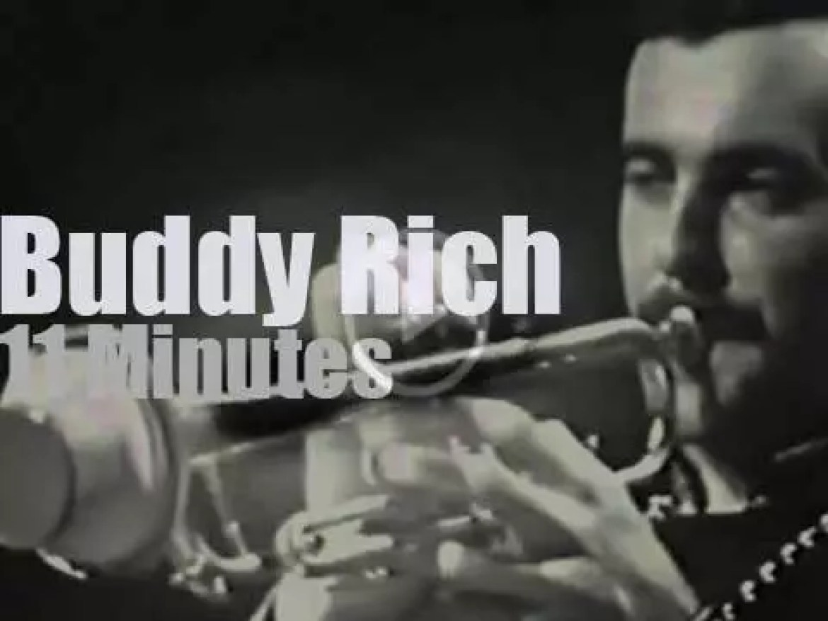 Buddy Rich takes his big band to Copenhagen (1968)