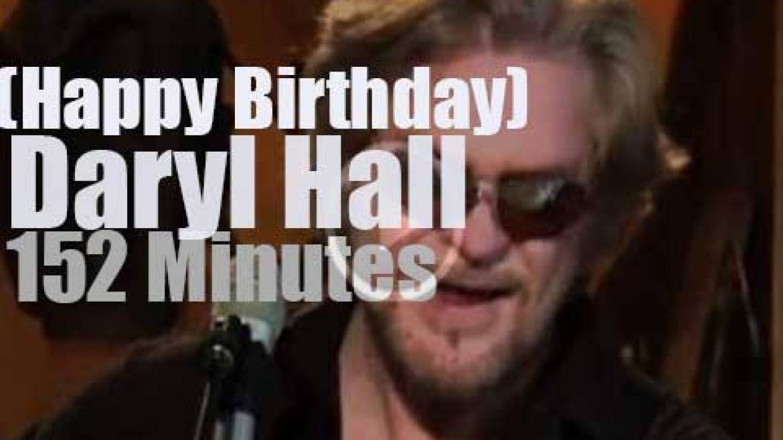 Happy Birthday Daryl Hall