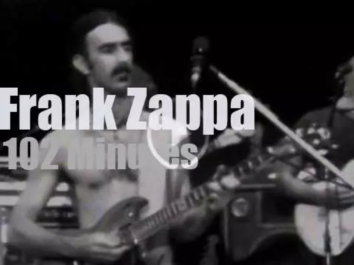 Frank Zappa goes to New-Jersey (1978)