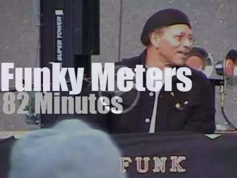 The Funky Meters play in Cincinnati (2000)