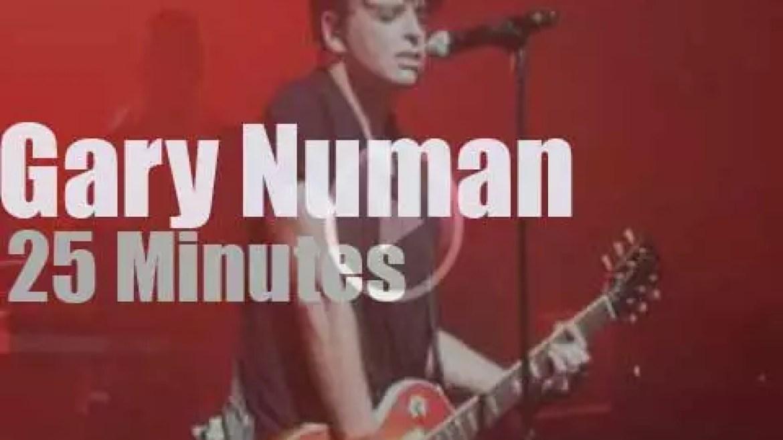 Gary Numan electrifies Manchester (2015)