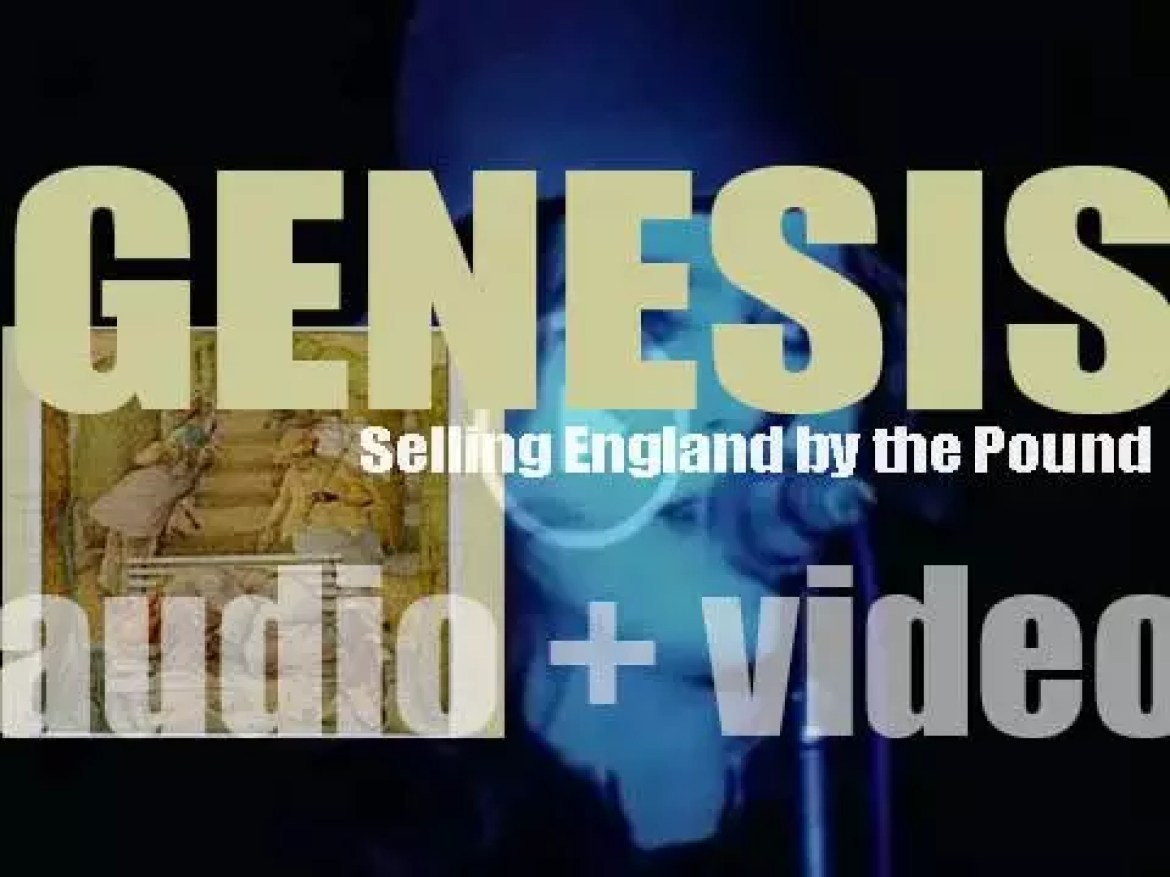Charisma  publish Genesis' fifth album : 'Selling England by the Pound' (1973)