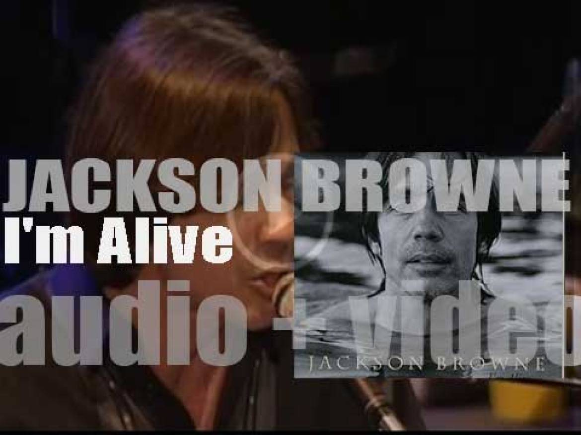Elektra publish Jackson Browne's tenth album : 'I'm Alive' (1993)