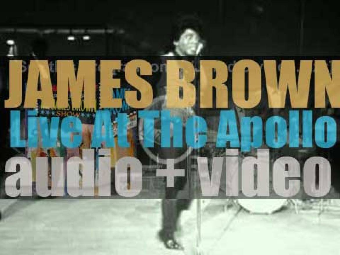 James Brown records 'Live at the Apollo' with the Famous Flames (1962)