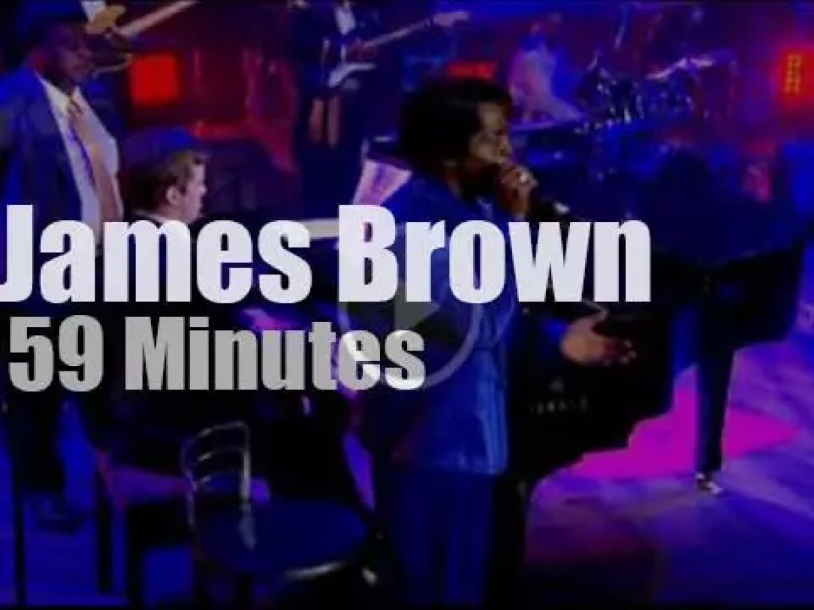 James Brown comes back (one last time?) to London (2006)