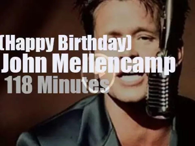 Happy Birthday John Mellencamp