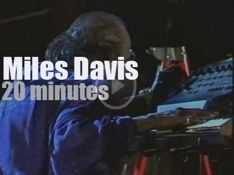 Miles Davis plays at 'Jazztage Berlin' (1985)